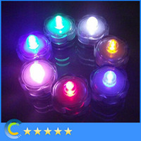 Wholesale 480pcs CM waterproof candle light flash flicker flameless led wax electronic light candle for wedding Holidays parties fashion