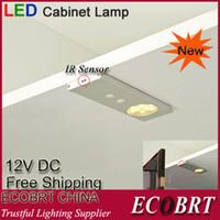 SMD led furniture - Ecobrt New Modern v w LED Ir Sensor Closet Light for Under Cabinet furniture Lighting