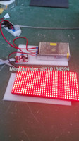 red led signs outdoor - hotsale p10 outdoor LED display red color p10 display module mm for LED moving sign