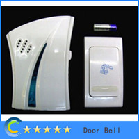 Wholesale Long distance Remote Wireless Cordless Musical Melody Doorbell High quality