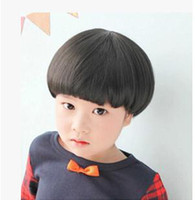 Wholesale Mushroom Hair Style Wig BOBO Wig Black Only For Child Y B32