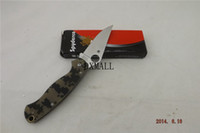 Wholesale military knife CPM S30V blade G10 handle Folding knife A401