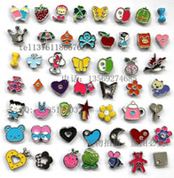 Wholesale Mixed MM DIY bracelet slide charms zinc alloy enamel slide beads fit wristband belt Pet Cat Tag Dog Collar charm pendant