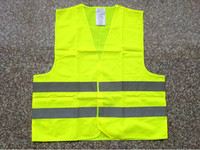 Wholesale DHL Green orange Reflective safety vest coat Sanitation vest Traffic safety warning clothing vest