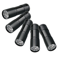 Ultrafire 800lm LED Flashlight 5 UV Ultra Violet Blacklight 9 LED Flashlight Torch Light Outdoors