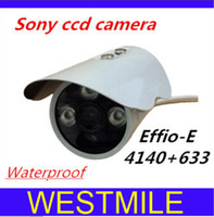 "SONY CCD Indoor 3 array led 1 3"" Sony CCD 700TVL High-Line Security Camera 3 array led CCTV bullet HD camera 3.6mm wide lens outdoor Surveillance Camera Free shipping"