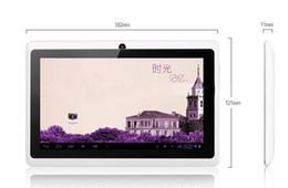 Dual core tablet pc à vendre-Avec housse 7 pouces HDMI Android 4.2 Tablet Pc Dual Core Capacitive Actions de l'écran 7021 Q8 Allwinner A23 4 Go 1.5GHz 512 Mo