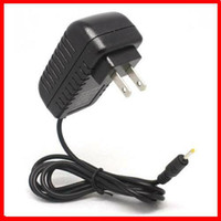 Wholesale 5pcs EU US Plug Wall Charger Power Adapter Black V A mm Charging Port for Aoson M19 PIPO M2 M3 M8 G Tablet PC