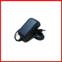 Wholesale 20pcs DC V A mm Jack EU US Plug Wall Charger Power Adapter Black for Aoson M19 PIPO M2 M3 M8 G Tablet PC