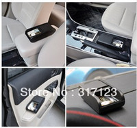 Plastic Acura,Aston Martin,Audi,Bentley,BMW,Buga ABS Free shipping (10pieces lot) Wholesale New Car Rolls Plastic Pocket Telescopic Dash Coins Case Storage Box Holder Container