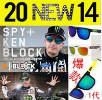 Wholesale AAAA quality colors MODELS SPY OPTIC KEN BLOCK HELM Sports Sunglasses Spy Eyewear Retro helm Sunglasses AAA quality