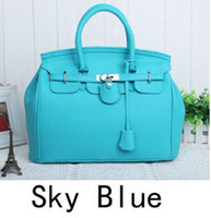 Totes designer leather handbags - 2015 Hot Celebrity Tote Shoulder Bags Woman HandBag fashion designer shoulder bag Girl Faux Leather Handbag