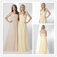 2015 New Collection Bridesmaid Dress Long Chiffon Party Gown...