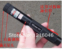 Green No No 2014Wholesale - 303 mantianxing 20000mw ppt laser pen pointer matches pointer pen laser light green light laser flashlight