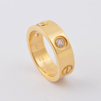 Wholesale Fashion Men Women Infinity Lovers Silver Rose Gold Three CZ Stones Wedding Couple Rings Jewelry