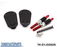 Wholesale Universal Car Racing Flush Mount Bonnet Hood Pin Kit Flush Hood Pins Kit JDM D1 TK D1JGS02N