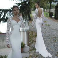 2015 New Collection Sweetheart Wedding Dresses Lace Mermaid ...