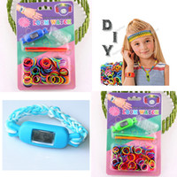 Cheap Boys Novelty Games Best 5-7 Years Mixed color rainbow loom  Bracelets