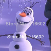 Mascot Costumes Animal Angel Hot sale 2014 Free shipping Frozen Olaf Snowman Mascot Costume for Adult Wholesale Winter Dress Free Shipping