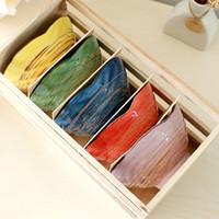 Wholesale Creative Color Shell Ceramic Bowl Japan Style Soup Bowl Fashion Dinnerware SH651