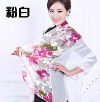 Wholesale Retail rayon silk polyster scarf Sarongs shawl wrap stole cm