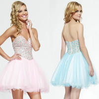 2015 New Collection Sweetheart Homecoming Dresses Short Mini...
