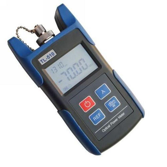 Optical Power Meter : Ftth kit fiber power meter optical fc sc st