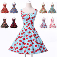 swing - Popular Vintage s s Pinup Rockabilly Swing Gown Prom Party Sleeveless Dresses CL6092