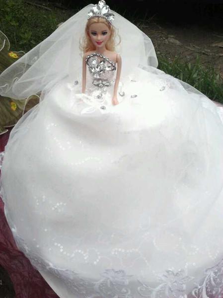 Barbie Doll Wedding Dresses For Sale   perlabook.com