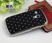 Cheap For Samsung bling star case Best Plastic  case for galaxy s3 mini