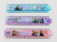 folding ruler - Hot explosion models FROZEN Po doll snow snow snow Romance Adventure rotating folding ruler