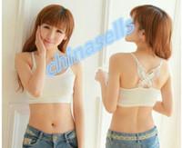 Wholesale Women Yoga Top Sports Bra Underwear Butterfly Back Quick Dry Fitness Gym Running Sport Yoga Bra Vest Top Underwear