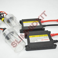 Cheap 25sets lot 12v DC 35w hid xenon kits single beam super SLIM hid xenon kit 35W DC H1 H3 H7 H8 H9 H10 H11 H13 9004 9005