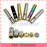 Electronic Cigarette Battery  Free DHL Copper SS Nemesis Mod by HCigar Vapor Vape Mechanical Mod for 18350 18500 18650 Battery Nemesis Mod 510 Thread Bagua Hammer Kayfun