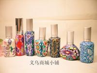 glass spray bottles wholesale - Special L015 clay perfume bottle pottery glass bottle empty bottle of spray bottle ML