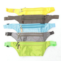 Wholesale Travel Handy Hiking Sport Fanny Pack Running Bum Bag Belt Zip Pouch New Waist Packs DHL