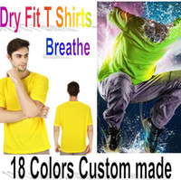 logo design free - 18 Colors Dry Fit Outdoor Sport T shirts S XXXL Plus Size Customize Design Logo from D K