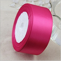 Wholesale New sewing supplies crafts fabric Top Quality yard quot mm single face satin ribbon