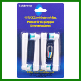 Wholesale New Electric toothbrush heads EB17 flexisoft SB A toothbrush heads Replacement brush Soft Bristles by DHL