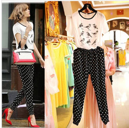 Wholesale Fashion Chiffon Round Dot Short Sleeve Jumpsuit Girl s Cute Bird Printing Casual Jumpsuit Girl s One Piece Pants S0624
