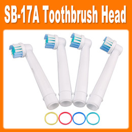 Wholesale 2014 Electric toothbrush heads EB17 flexisoft SB A toothbrush heads Replacement brush Soft Bristles by DHL