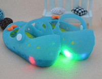 Wholesale toddler kids children lovely flashing shoes candy latest Korean style shoes pieces factory direct sale