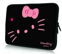 Wholesale Cute Hello Kitty Design quot quot quot quot quot Neoprene Laptop Sleeve Case Notebook PC Skin Cover Pouch Bag Hot Sale