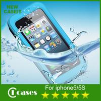 iphone 5 accessories - iPhone Case Waterproof ShockProof Phone Case For iPhone S iPhone S Phone Accessories