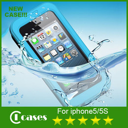 Wholesale iPhone Case Waterproof ShockProof Dirt Proof Snow Proof IN Metal Case For iPhone S iPhone S Phone Accessories