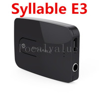 Wholesale Syllable E3 Multi Function Bluetooth Transmitter mm Receiver Box For Computer TV Audio Adapter Dongle Launcher