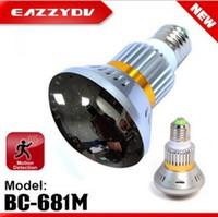 Wholesale BC M Bulb Mirror Face Hidden Security DVR Camera