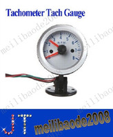 lighted cup holder - Tachometer Tach Gauge with Holder Cup for Auto Car quot mm RPM Orange Light dropshipping MYY1697