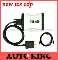 Wholesale 2015 Newest white TCS cdp pro plus R3 software Compact Diagnostic Partner Pro LED on obd2 for cars trucks with DHL FREE SHIP