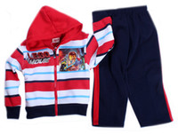 Boy under armour - 2014 sleepwear autumn and winter sweater T T boy cartoon suits fashion sportswear THE LEGO MOVIE sports suit Long sleeved hoodie pants